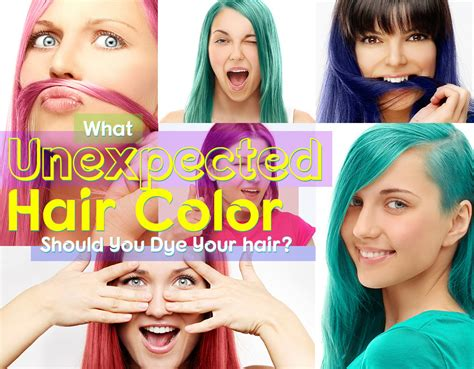 What Unexpected Color Should You Dye Your Hair? Quiz