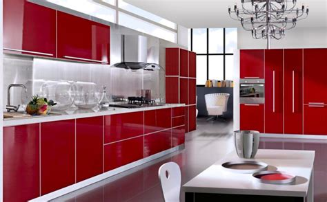 Ikea Red Kitchen Cabinets