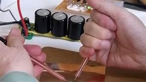 Testing Mini Capacitor Spot Welder