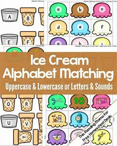 free alphabet matching activity instant download free With learning lowercase letters game