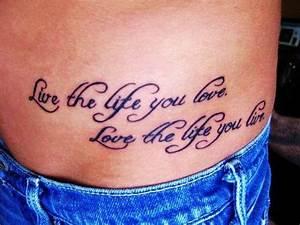 Phrase Tatouage Sur La Force : tatouage phrase anglais sur la cuisse mod les et exemples ~ Melissatoandfro.com Idées de Décoration
