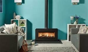 Poele A Gaz Avec Thermostat : po le gaz studio 2 freestanding stovax gazco ~ Premium-room.com Idées de Décoration