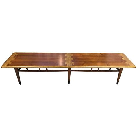 extra long coffee table extra long lane dovetail coffee table at 1stdibs