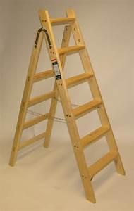 Leiter Holz Deko : haushalt leiter 7 stufen doppelleitern stehleitern aus holz haushaltsleiter holzleiter ~ Markanthonyermac.com Haus und Dekorationen