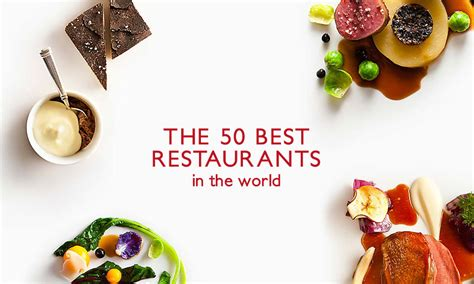 Best Restaurants In The World 2015 Highsnobiety