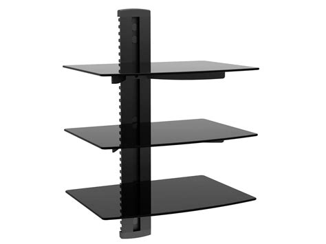 Wall Bracket Shelf System by 12 Inspirations Of Cable Glass Shelf System
