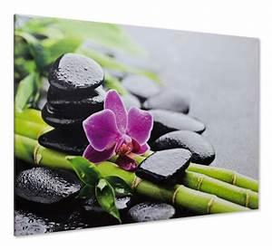 Bilder Feng Shui Steine : keilrahmen leinwand bild wandbild 60x90 wellness steine orchidee bambus fengshui ~ Whattoseeinmadrid.com Haus und Dekorationen