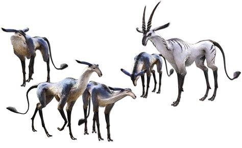 antelope characters art final fantasy xiv