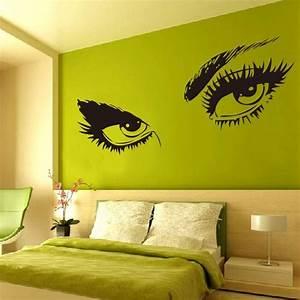 K L Wall Art : audrey hepburn 39 s sexy eyes 3d wall sticker art decals 8024 home decor black s m l in wall ~ Buech-reservation.com Haus und Dekorationen