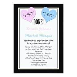 post wedding reception invitations i do 5 quot x 7 quot invitation card zazzle - Post Wedding Reception Invitations