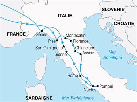 Carte Italie Villes by Voyage En Autocar En Italie Les Plus Belles Villes D