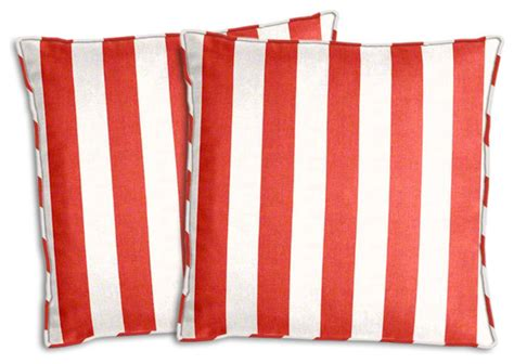 white outdoor pillows and white striped outdoor pillow set traditional
