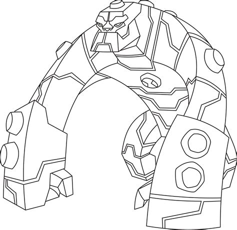 Ben 10 Omniverse Coloring Pages