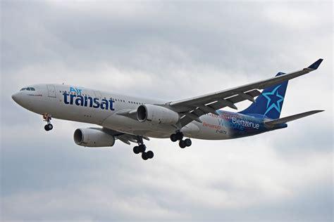 airbus a330 200 air transat c ggts air transat airbus a330 200 at toronto pearson airport yyz