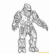 Halo Coloring Spartan Flood Printable Odst Sheets Drawings Adult Getcolorings Coloringpagesonly sketch template