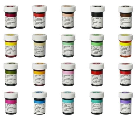 icing colors wilton food colour icing color concentrate gel dye paste