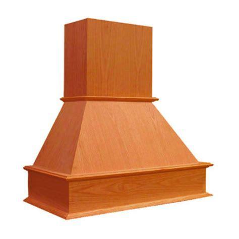 "Range Hoods   30'', 36"", 42"", and 48"" Wooden Wall Mounted"