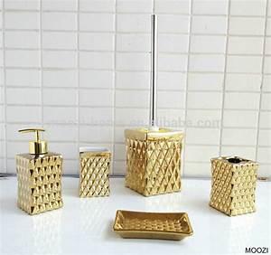 Bad Accessoires Gold : badkamer accessoires goud ~ Whattoseeinmadrid.com Haus und Dekorationen