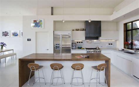 cuisine blanche en bois la cuisine blanche et bois dans tous ses états