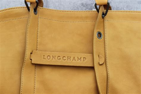 longchamp  tote honey leather