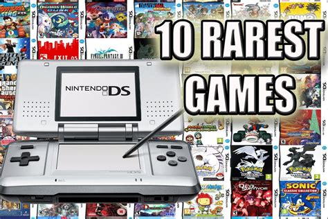 Top 10 Rarest Nintendo Ds Games Most Expensive Ds Games