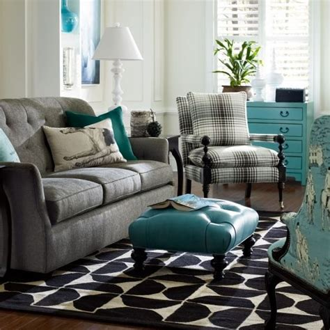 Grey And Turquoise Living Room by Gray And Turquoise Living Room Timeless Turquoise