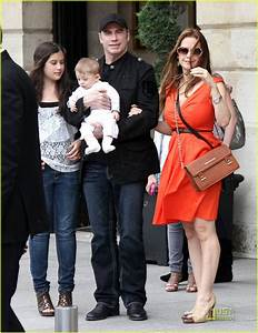 John Travolta & Kelly Preston: Paris with the Kids!: Photo ...