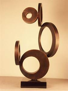 China Abstract Iron Sculpture  Modern Metal Sculpture In