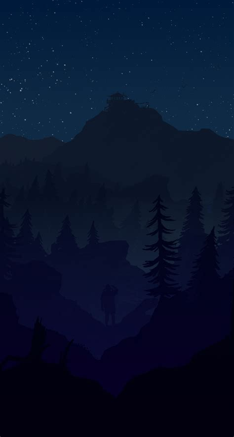 firewatch wallpaper reddit firewatch with changing wallpapers androidthemes