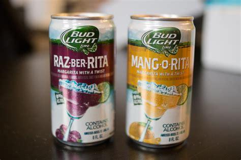 bud light margaritas bud light launches new raz ber and mang o flavors