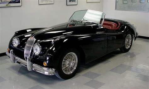 Ready To Pounce A Rare 1956 Jaguar Xk140 Roadster Finds A