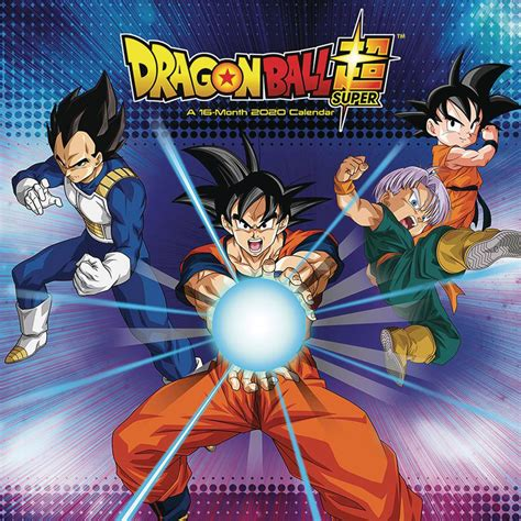 dragonball super wall calendar trends westfield comics comic