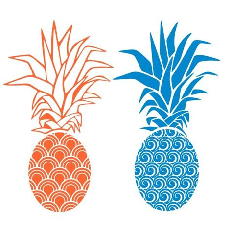 pineapple top silhouette 13 best pina images on svg file pineapple