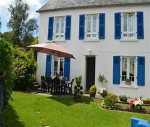 La Maison Du Volet : les volets bleus maison de p cheur la foret fouesnant ~ Melissatoandfro.com Idées de Décoration