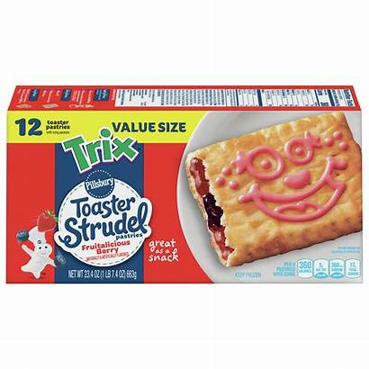 Toaster Strudel Pillsbury Trix Walmart Flavored Count