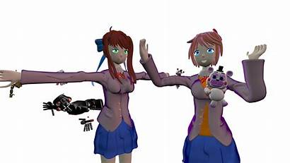 Fnaf Ddlc Leaked Die Monika Attacked