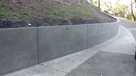 concrete retaining wall construction 8 2 concrete retaining wall orinda all access constructionall access construction