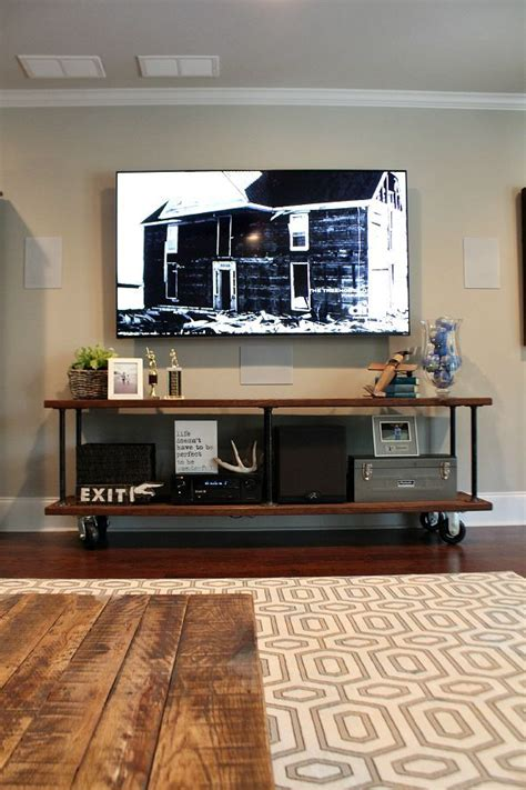 tv console design ideas 10 rustic tv console ideas that you can even try to make page 2 of 2