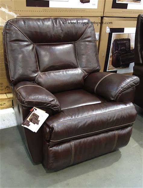 costco berkline tullran leather rocker recliner 499 99