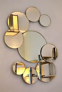 Miroir Rond Laiton : le miroir un objet d coratif design pour le d cor int rieur ~ Teatrodelosmanantiales.com Idées de Décoration