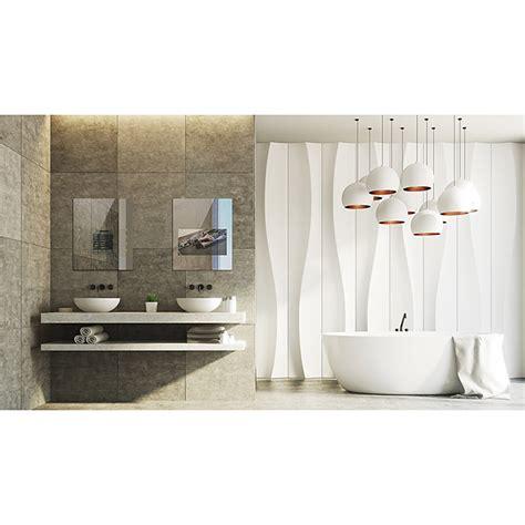 mues tec smart badspiegel 60 x 80 cm led display 21 5 54 6 cm 12 v dc smarte badspiegel