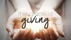 The Grace of Giving • FaithEquip