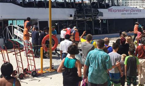 Ferry Boat Bomb In Mexico by At Least 18 Injured After Ferry Explosion In Mexico