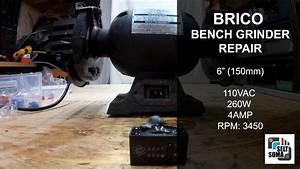 Bench Grinder Repair - Capacitor Replacement