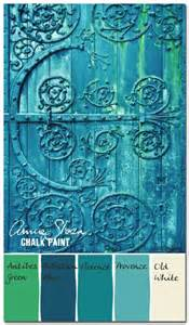 Annie Sloan Chalk Paint Colors Blue