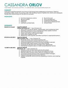 Resume Examples For Hairstylist