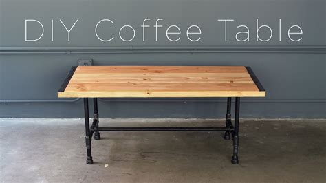 industrial tv stand diy pipe coffee table