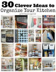 kitchen spice organization ideas 30 clever ideas to organize your kitchen in the garage