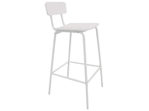 chaise de bar conforama tabouret de bar coloris blanc vente de chaise de