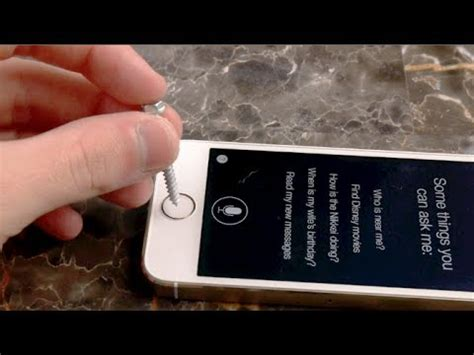 iphone 5s test iphone 5s not recognizing touch id after scratch test